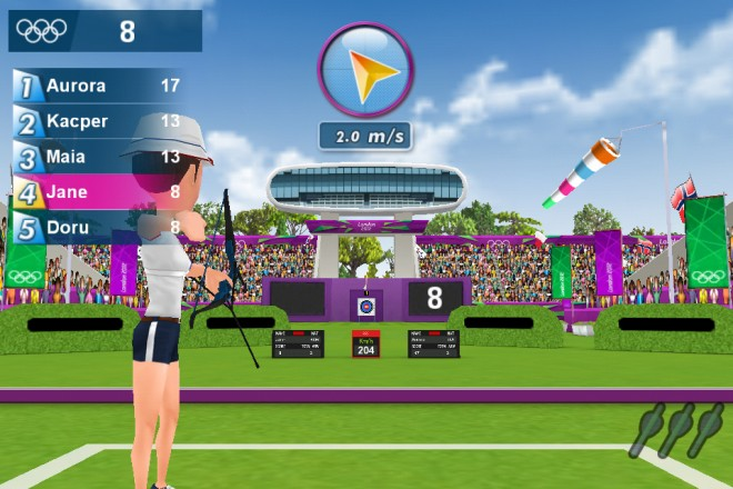 London 2012 Olympics Gets Official Android Game, in Both ...