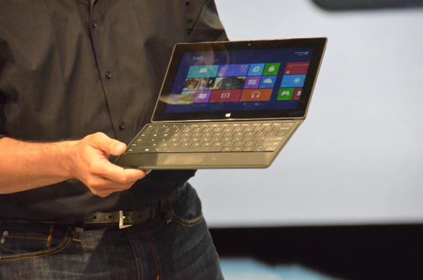 Microsoft announces Surface Tablet
