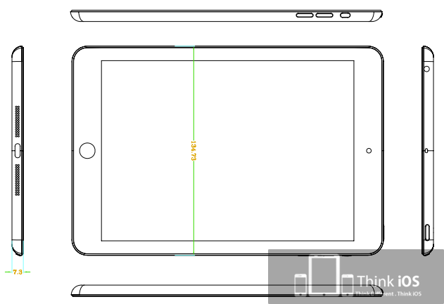 Ipad Mini Dimensions Leaked In New Sketches Tablet News