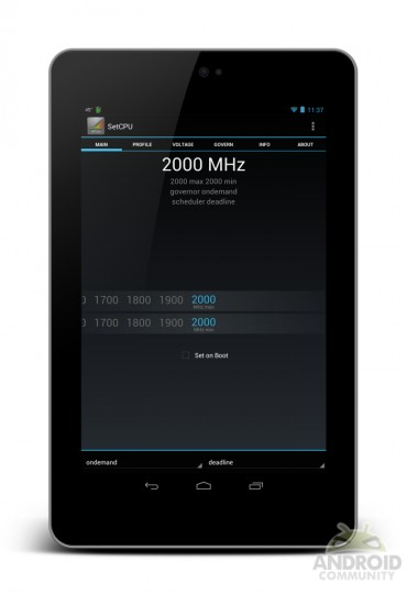 Nexus 7 XDA Developers overclock Archives - Tablet News