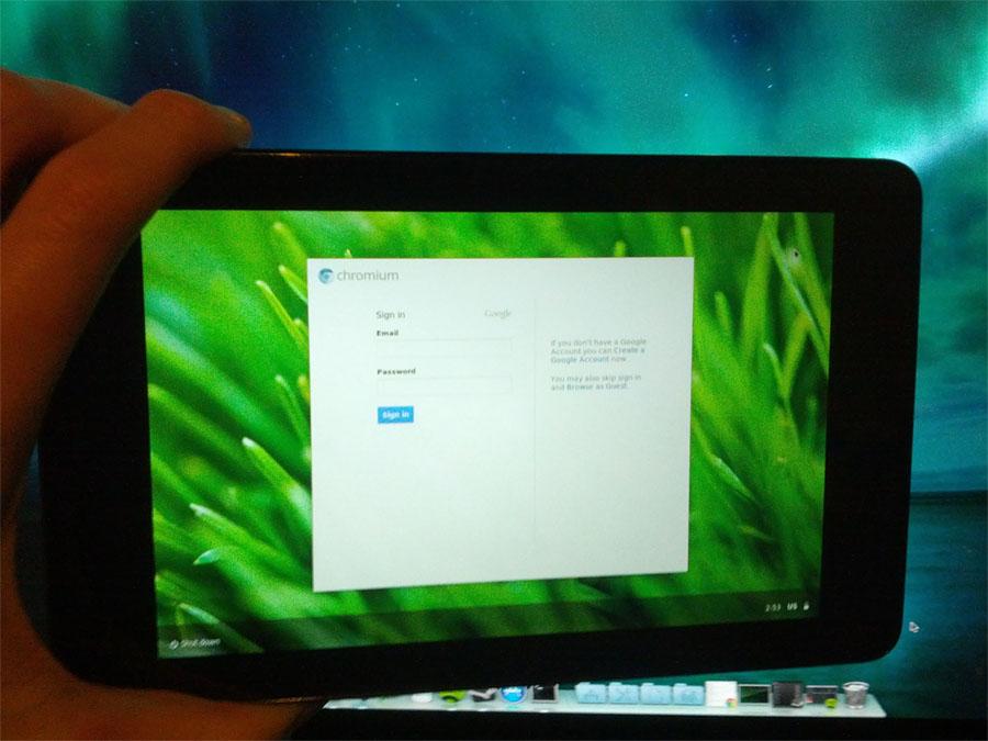 Nexus 7 Tablet Runs Chromium OS via Port - Tablet News