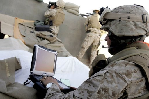 soldier-computer