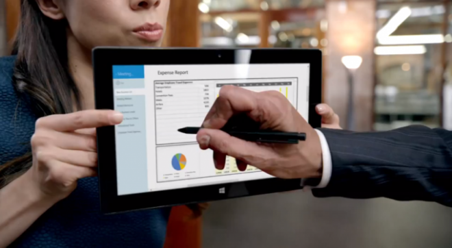 Surface Pro ad screenshot_0