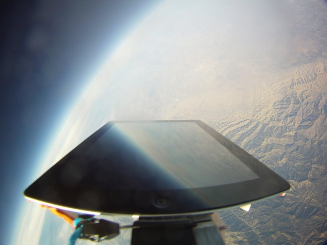 ipad in space