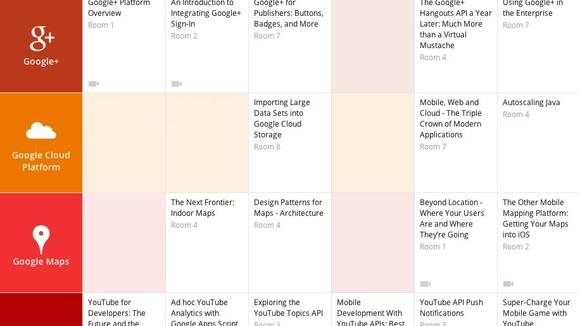 Google IO 2013 Sessions schedule-580-75