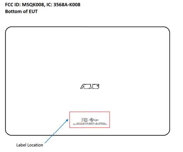 Asus-K008-FCC-label-1