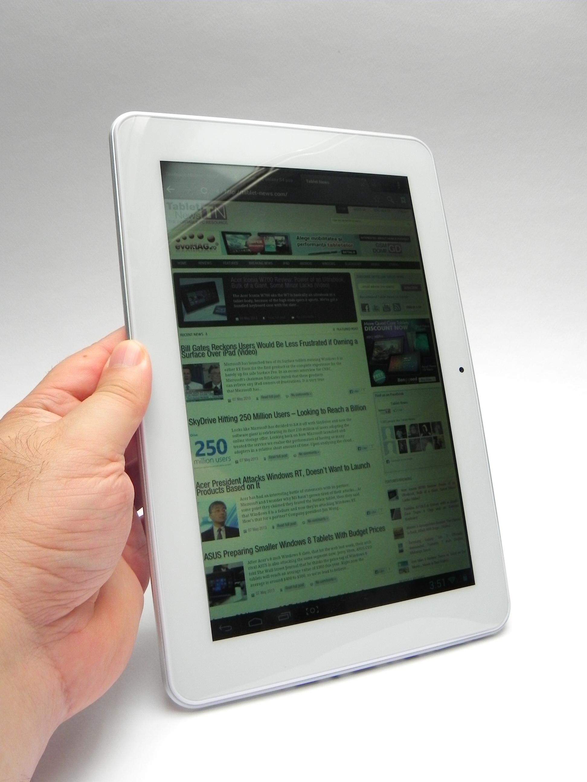 E-Boda Supreme X400 QC Tablet Linux