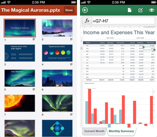 Microsoft Office Mobile Debuts on iOS, Available For free on