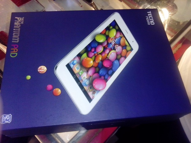 tecno pad packed