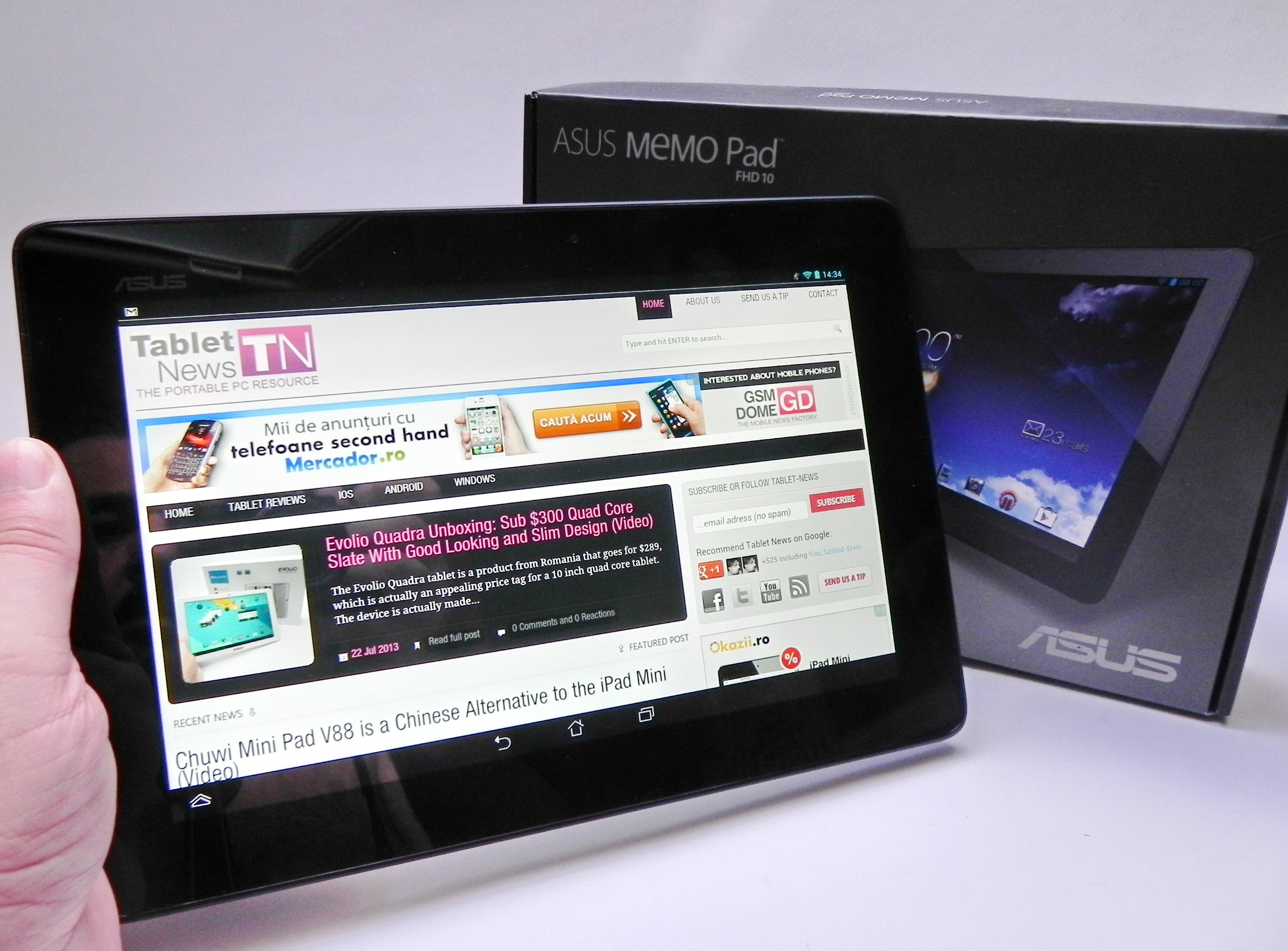 Asus Memo Pad Fhd 10 Review Exquisite Audio Experience