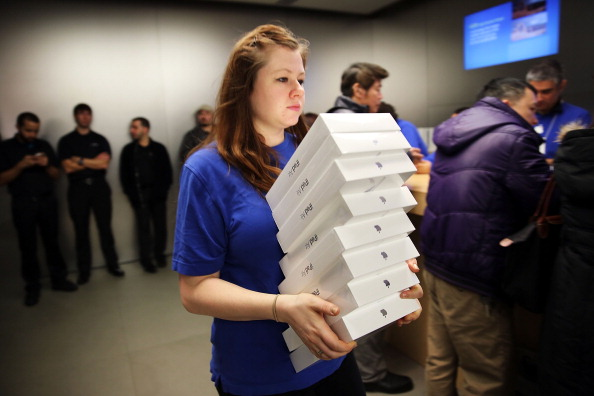 Apple's New iPad Air Goes On Sale