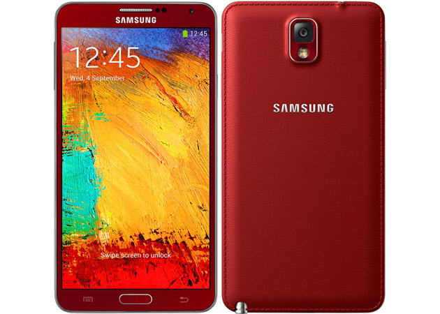 Samsung Galaxy Note 3 in Red and Rose Gold Appears in ...