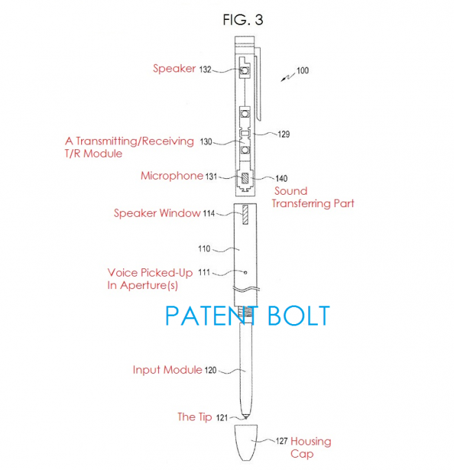 samsung patent digital pen 2