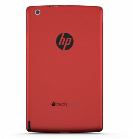 hp slate 7 beats audio