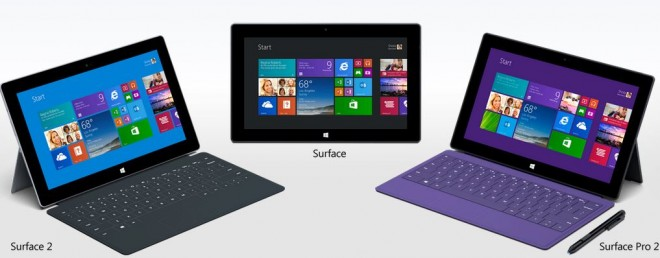 Microsoft-Surface-family