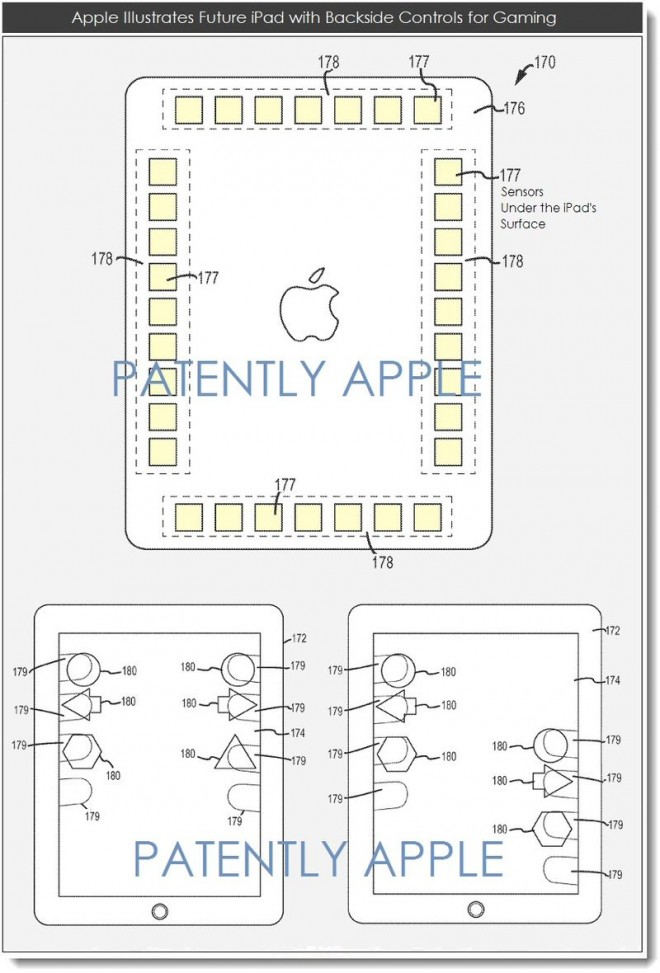 ipad gaming patent