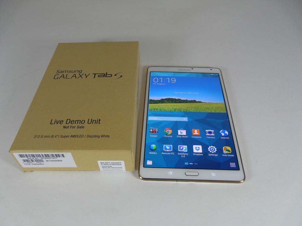 Test: Samsung Galaxy Tab's 8.4.