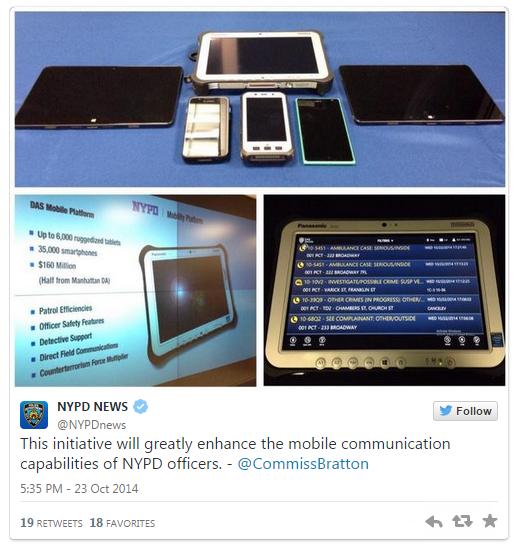 cops phones