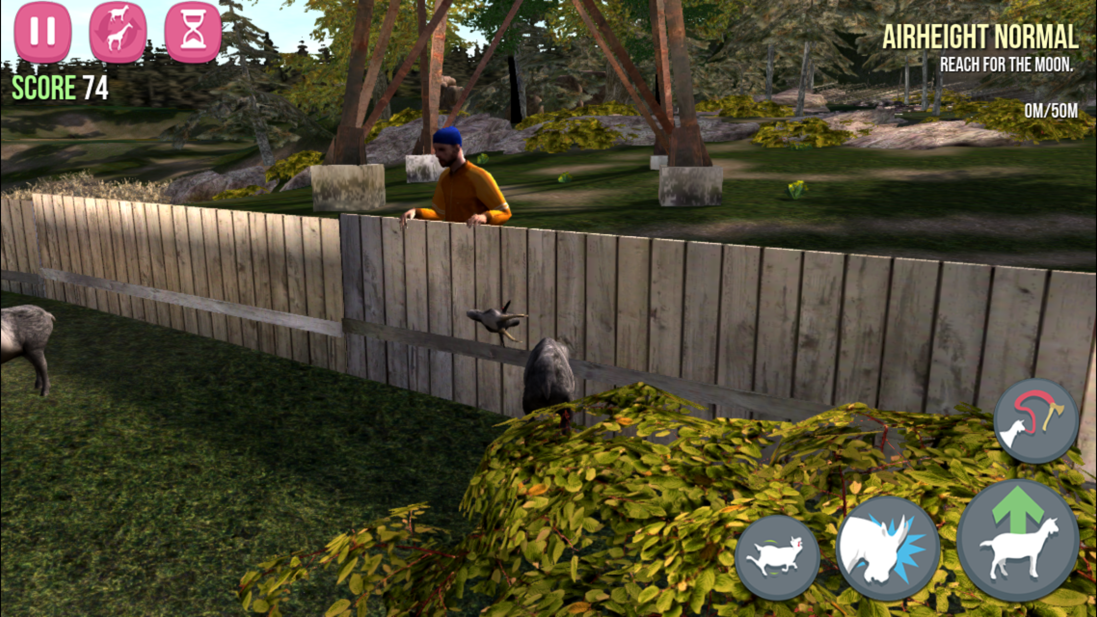 how to get robot goat goat simulator iphone