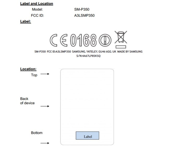 Samsung-Galaxy-Tab-AS-Plus-SM-P350-FCC-Certification