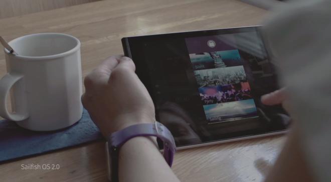 sailfish OS 2.0 tablet
