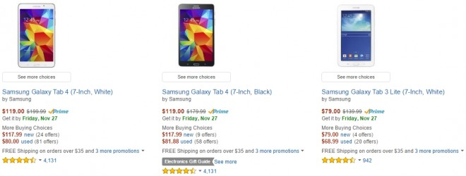 Amazon Black Friday Sale For Samsung Tablets Is Live