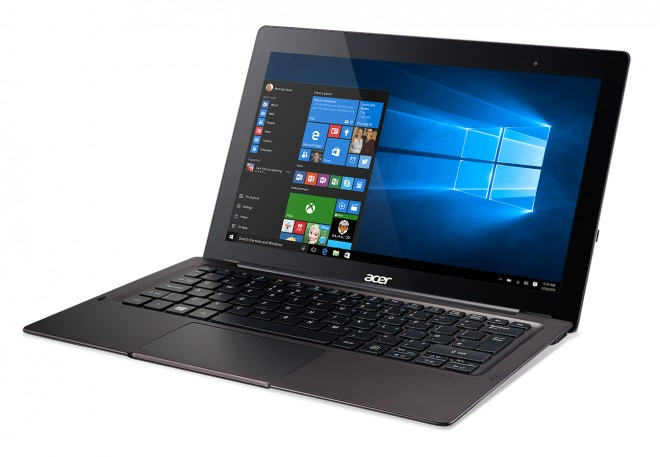 Acer Switch 12 S SW7-272 Win10 front angle left
