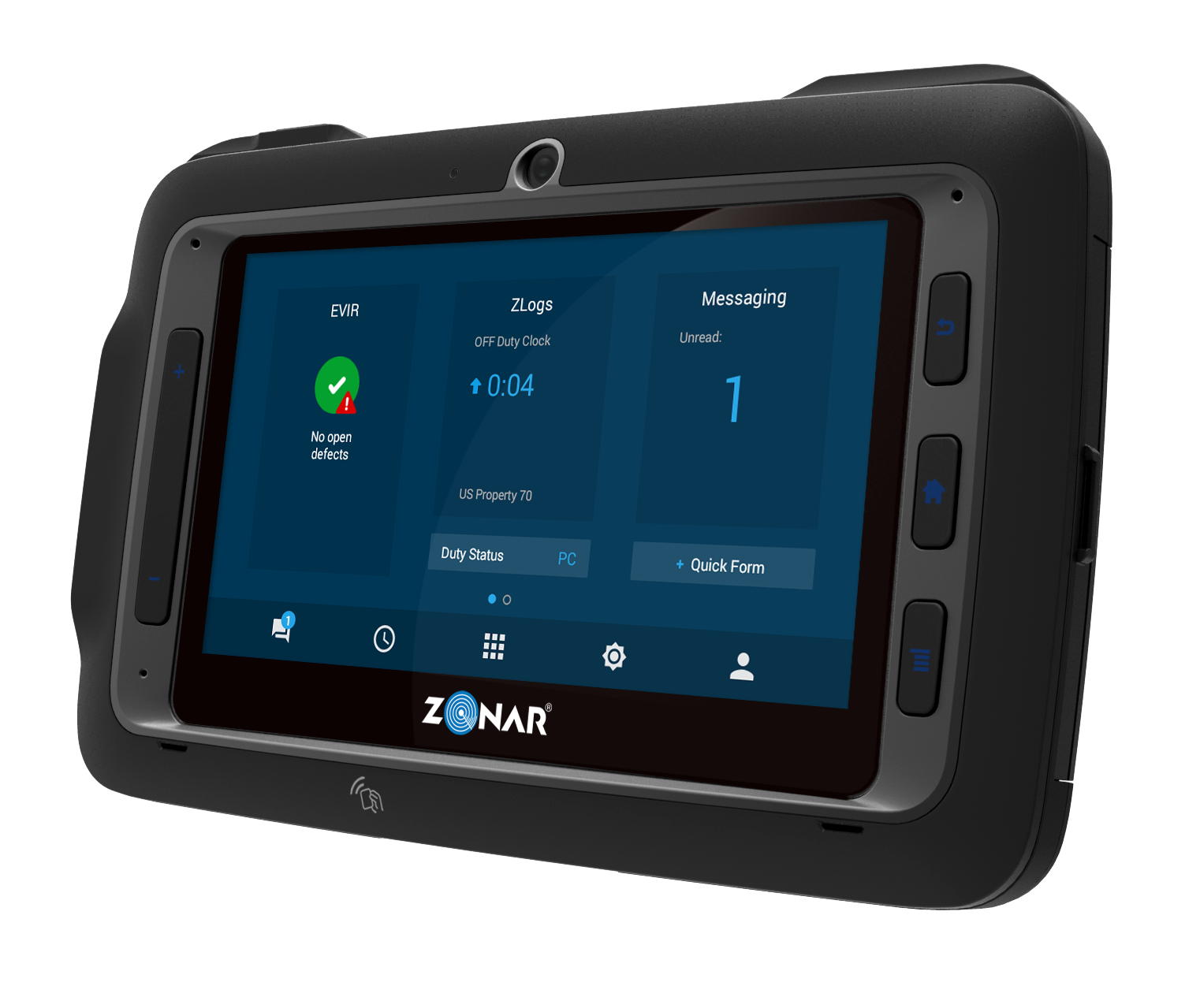 Zonar Debuts Next Gen Rugged Tablet Called Connect Runs Android