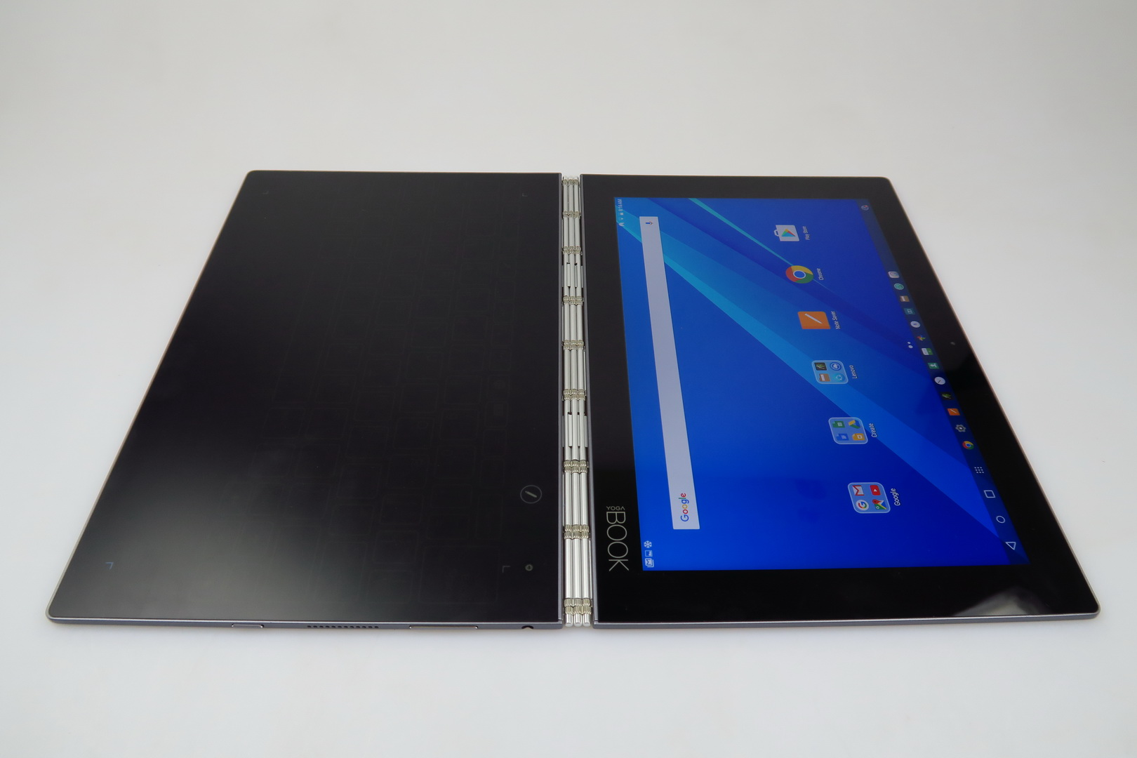 lenovo yoga book review flipping the script on productivity touch input and pens video. Black Bedroom Furniture Sets. Home Design Ideas