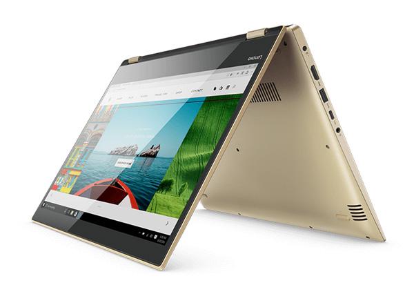 Lenovo Yoga 520 Kaby Lake Convertible Features USB Type C