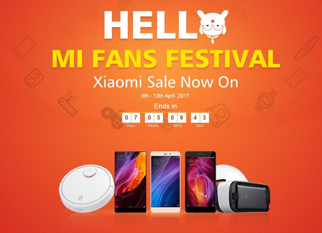 Xiaomi and GeekBuying Start Mi Fans Festival Price Cuts, Lasting Till April  13th; Great Prices for Freshly Launched Mi Pad 3 and More - Tablet News
