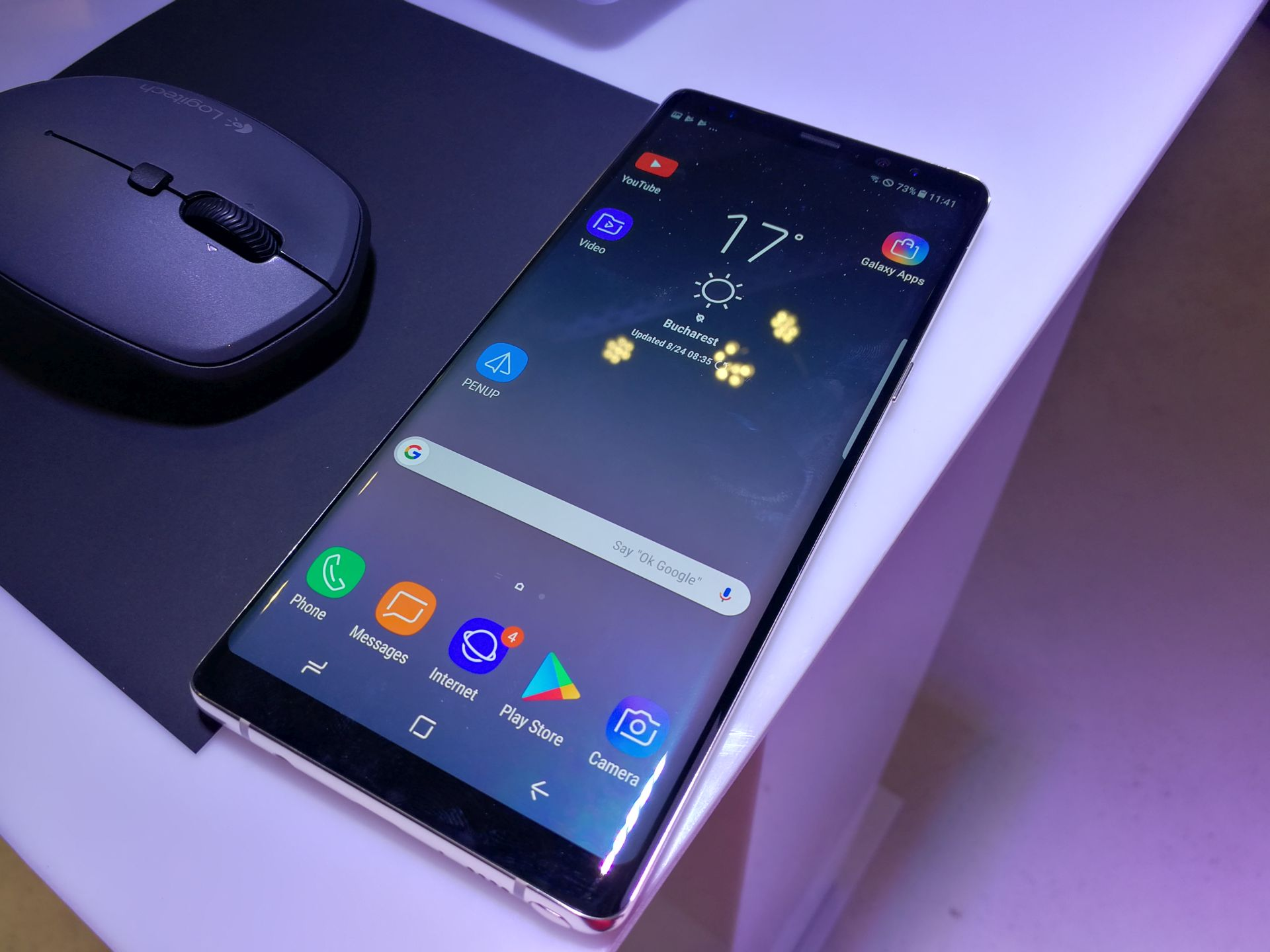 samsung galaxy note 8 hands on review camera tests turns