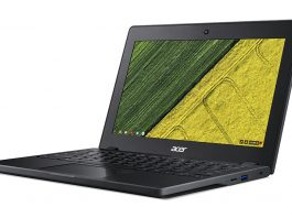 Image result for Acer unveils Chromebook 11 C771 Laptop with Rugged Body