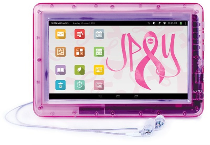 JPay's Pink Tablet is an Original Way of Supporting Breast