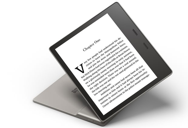 amazon debuts new kindle oasis e reader now water resistant