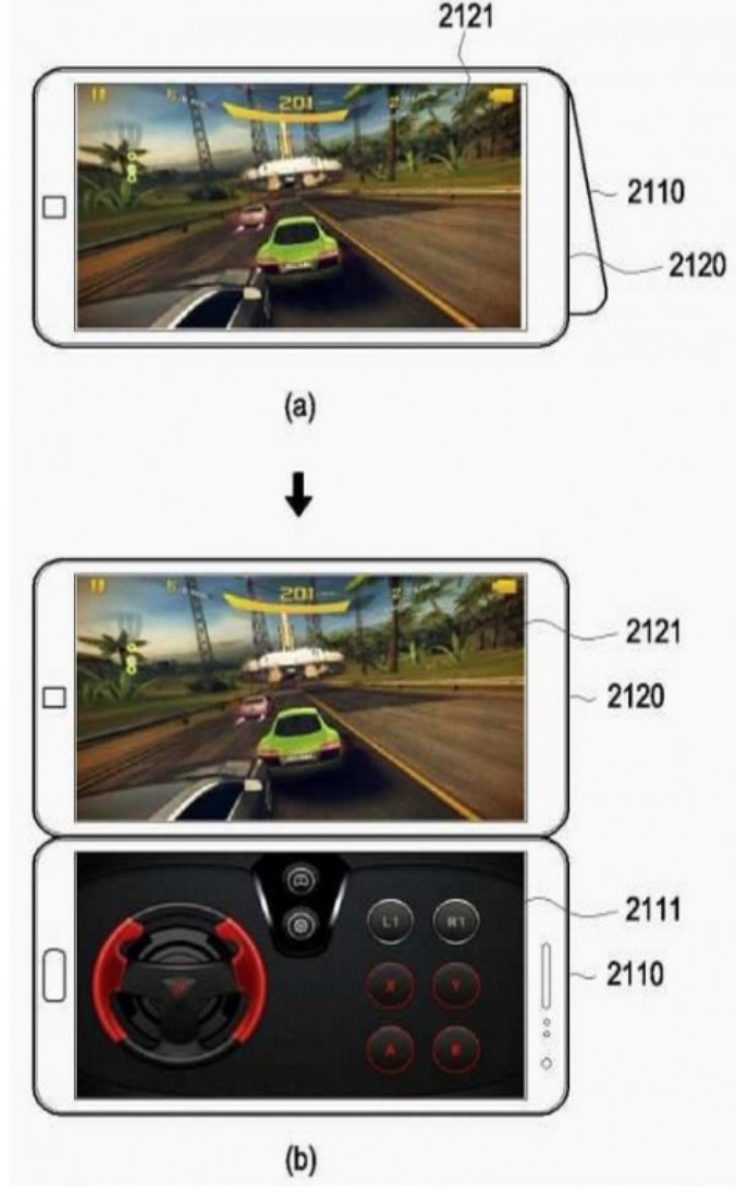 Samsung Patent Shows How a Dual Screen UI Would Work on ...
