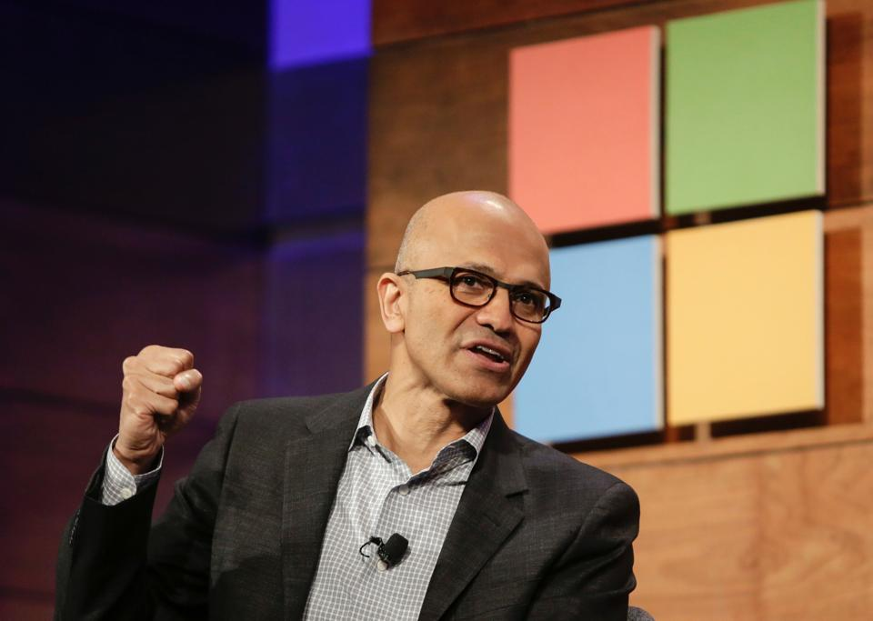 """Microsoft CEO Satya Nadella Jests About iPad Users """"Not ..."""