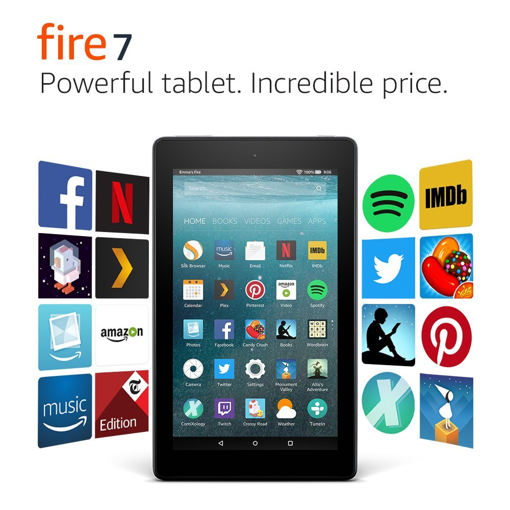 amazon fire 7 and fire hd 8 tablets debut in canada. Black Bedroom Furniture Sets. Home Design Ideas