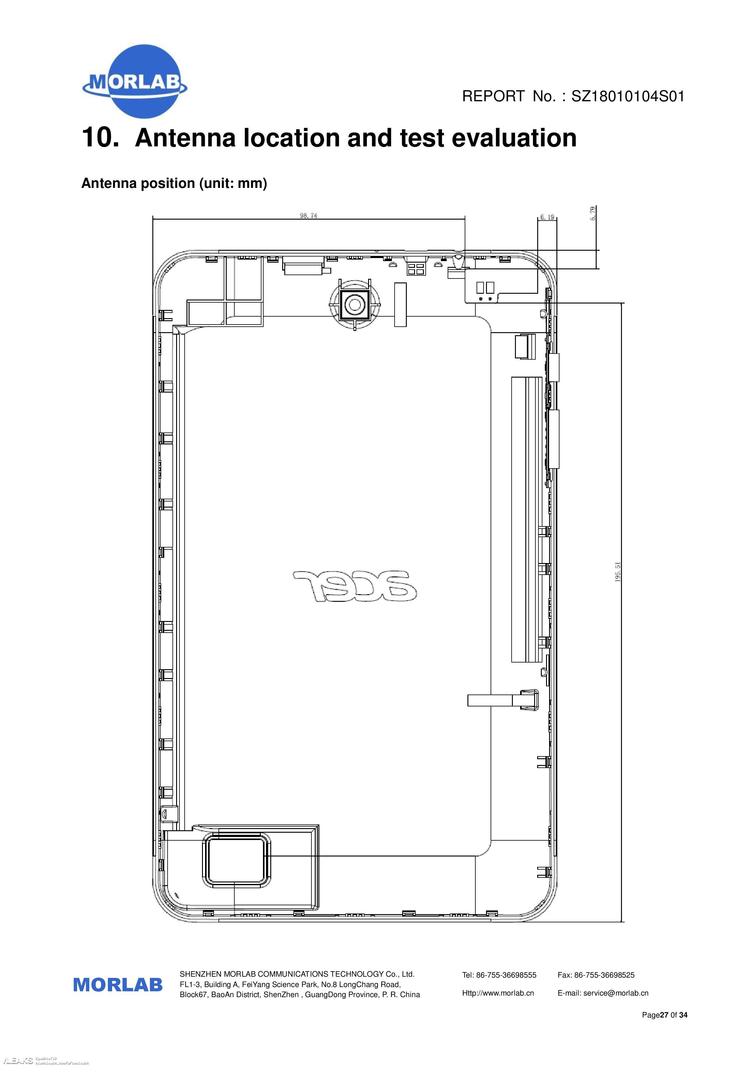 Acer Iconia One 8 (2018) Tablet Schematics Leaked Via FCC