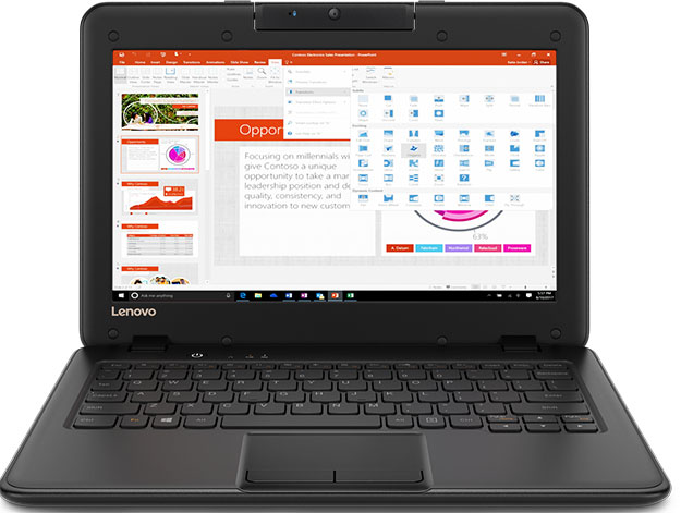 Lenovo 100e 300e And 500e Rugged Chromebooks Now On Sale