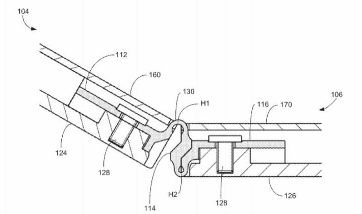 microsoft files new patents for a hinge meant for a potential surface phone