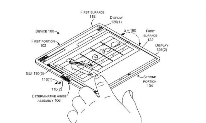 Microsoft New Patent Shows an Andromeda Device That ...