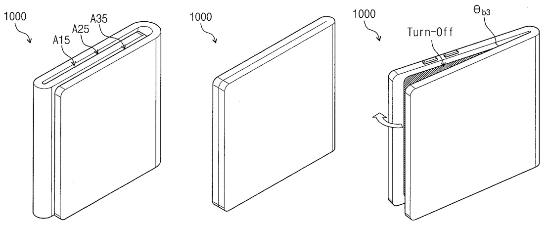 Samsung Patents Folding, Transparent Smartphone With ...
