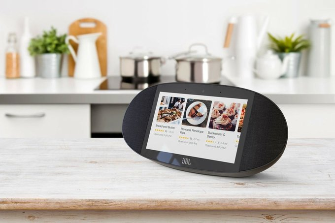 JBL Link View Smart Display With Google Assistant Now Available for Preorder