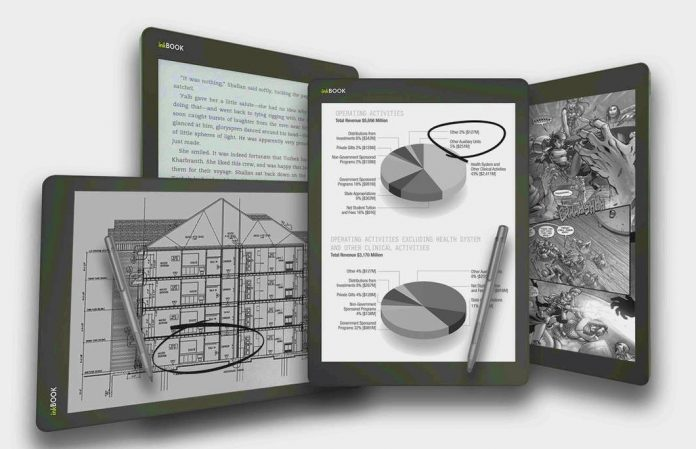 InkBook Infinity is a New 10.3 inch E Ink Writing Tablet, Now on Kickstarter