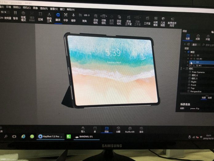 iPad Pro 2018 Pops Up in Detailed Renders, With Slim Bezels, No Face ID or Notch