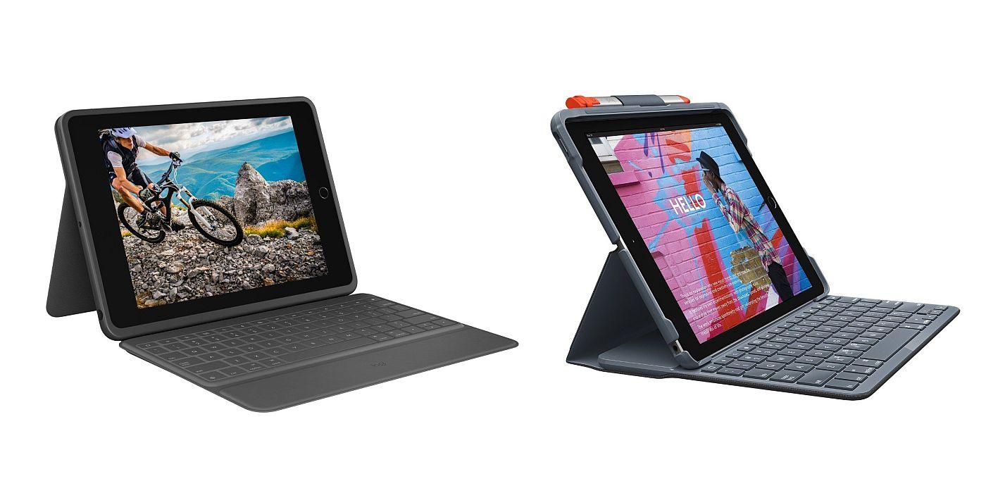 Logitech Debut Slim Folio dan Keyboard Folio Rugged untuk iPad 10.2 1