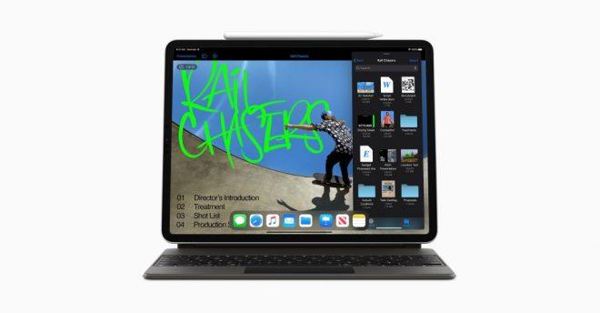 Apple طرح جهاز iPad Pro الجديد بكاميرا ثلاثية و LIDAR و A12Z CPU ولوحة مفاتيح Magic الجديدة 4