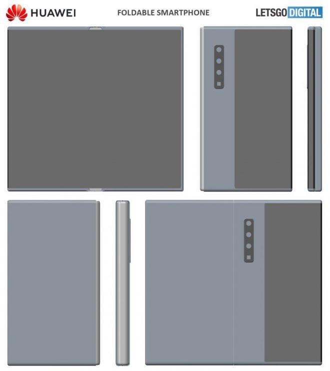 هواوي ميت X2 يحصل على براءة اختراع ويصبح أقرب إلى Galaxy Fold 1
