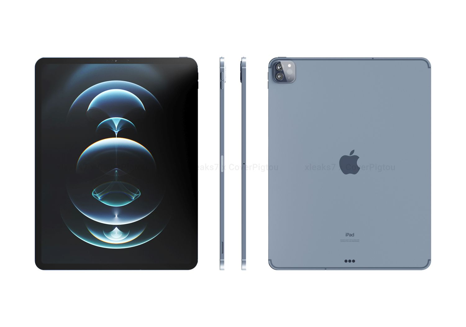 Latest iPad Pro (2021) Renders Leaked, With Familiar ...